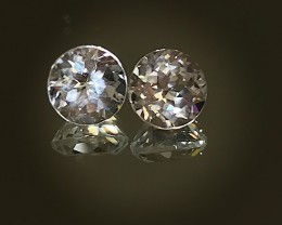 Jewellery Grade Blue Topaz Pair -  7.00mm each
