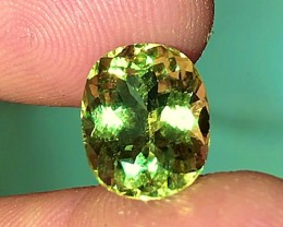 5.05 cts YELLOW TOURMALINE