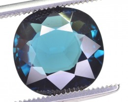 4 ct SUPERB QUALITY LUSH BLUE INDICOLITE TOURMALINE