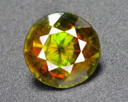 2.80 ct NATURAL TOP FIRE GREEN SPHENE