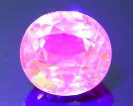 Rare Fluorescent Garnet 1.19 ct Grossular Mint Merelani Tanzania SKU 1