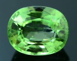 Rare 1.38 ct Ugrandite Fluorescent Grossular Garnet Merelani TanzaniaSKU 1