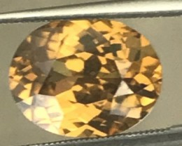 Very Luminous 5.5ct Ceylon Yellow Zircon  ZA02