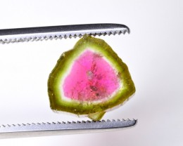 4 ct NATURAL WATER MELON TOURMALINE SLICE