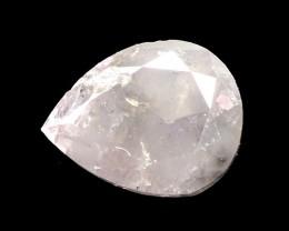 FANCY GRAYISH PINK DIAMOND - 0.47 CT