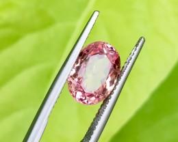 3.70Cts Rare Katlang Pink topaz very beautiful piece