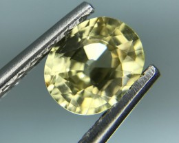 1.61 CT NATURAL YELLOW ZIRCON HIGH QUALITY GEMSTONE S28
