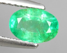 IMPRESSIVE OVAL BEST COLLECTION OF NATURAL COLOMBIAN EMERALD ""