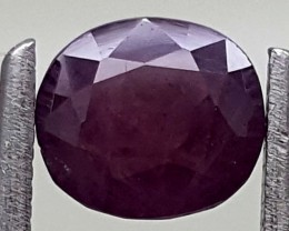1CT UNHEATED KASHMIR SAPPHIRE BEST QUALITY GEMSTONE IGC409