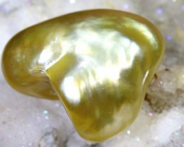 7.9CTS GOLDEN NATURAL KEISHI PEARL SG-2591