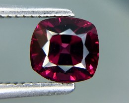 1.37 Cts Natural Cherry Red Garnet Awesome Color ~ Africa Kj86