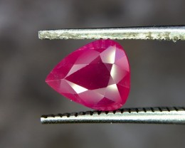1.46 Crt GIL Certified Natural Ruby Untreated Faceted Gemstone (954)