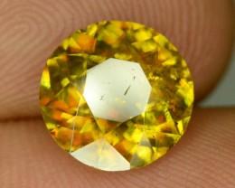 Amazing Fire 2.25 ct Sparkling Earthmined Sphene (Titanite)