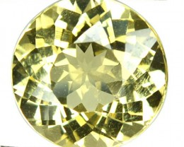 5.03 Cts Natural Yellow Beryl NICE ROUND 11.50 mm Brazil Gem