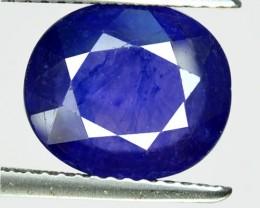 4.35 Cts Natural Blue Sapphire Oval Cut Thailand Gem