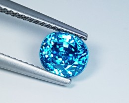 3.03 ct  Ultra Sparkling Oval Cut Natural Zircon
