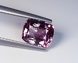 2.28 ct Mind Blowing Cushion Cut Fine Pink Natural Spinel