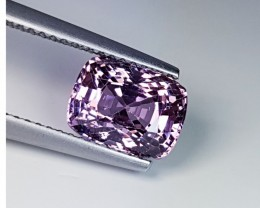 3.06 Ct Collective Gen Stunning Cushion Cut Natural Pink Spinel