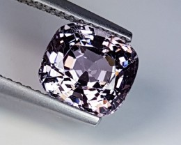 2.41 cts Awesome Cushion Cut Top Quality Light Pink Spinel