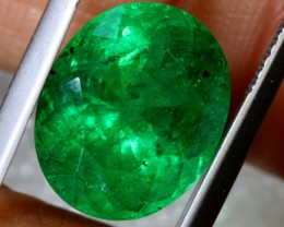 6.27CTS CERTIFIED EMERALD FACETED GEMSTONE TBM-1427