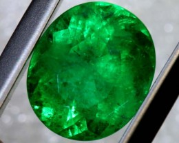 2.29CTS CERTIFIED EMERALD FACETED GEMSTONE TBM-1428