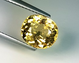 2.69 ct Fantastic Oval Cut Top Quality Yellow Tourmaline