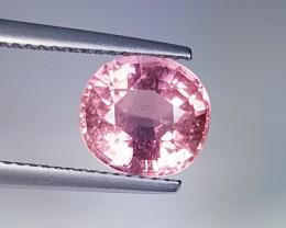 2.96 ct Stunning Cushion Mixed Cut Exclusive Pale Pink Tourmaline