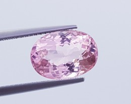 3.53 ct  Beautiful Oval Mixed Cut AAA Grade Light Pink Tourmaline