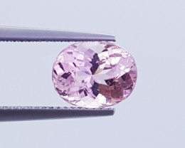 5.83 ct Excellent Oval Cut Top quality Light Pink Tourmaline