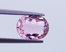3.00 ct Awesome Oval Mixed Cut Perfect Light Pink Tourmaline