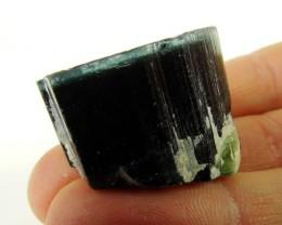 Tourmaline crystal Blue Cap - 26,66 grams  - Afghanistan