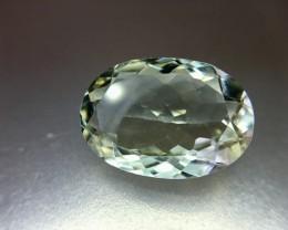 9.90 Crt Natural Green Amethyst Prasiolite Faceted Gemstone (R 144)