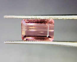 3.05 Crt Natural Pink Tourmaline Faceted Gemstone (955)