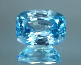 2.37 Cts Blue Zircon Awesome Color ~ Cambodia  Z10