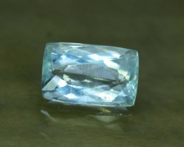 8.70 cts Radiant Cut Untreated Natural Aquamarine Gemstone From Pakistan (A