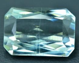 9.40 cts Scissor Cut Untreated Aquamarine  Gemstone From Pakistan (A)
