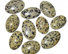 309.45 Cts DALMATION JASPER WHOLESALE LOT (NATURAL+UNTREATED)