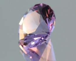 7.3CT BRAZILIAN AMETHYST~USA CUSTOM FACETED~