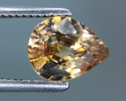 1.33 Cts Natural Zircon Awesome Color ~ Cambodia Kj88
