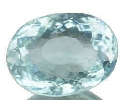 2.83 Cts Natural Blue Aquamarine Oval Cut Brazil Gem