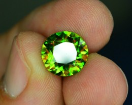 AAA Color 3.55 ct Chrome Sphene Color Change Pakistan SKU.14