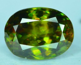 AAA Color 3.10 ct Chrome Sphene from Himalayan Range Skardu Pakistan SKU.14