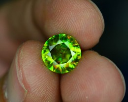 AAA Color 2.45 ct Chrome Sphene from Himalayan Range Skardu Pakistan SKU.14