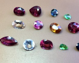 10.15 Crt Natural Multi-Stone Faceted Gemstone (R 145)