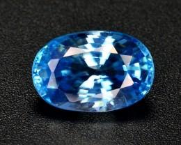 4.55 CT TOP QUALITY  BLUE COLOR   ZIRCON