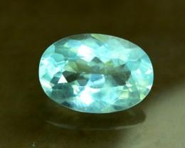 8.40 cts  Oval Shape Cut Untreated Natural Aquamarine Gemstone From Pakista