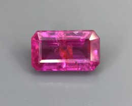 0.97 CT Certified  Natural Ruby  Beautiful Faceted Gemstone S22