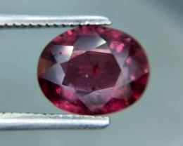 2.06 Cts Natural Cherry Red Garnet Awesome Color ~ Africa Kj88