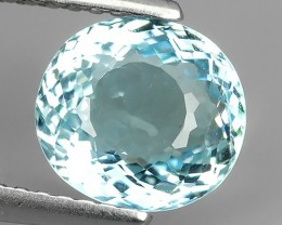 1.80 CTS HUGE STUNNING NATURAL NICE AQUAMARINE OVAL NR!!