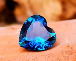 3.50 carats London Blue Topaz